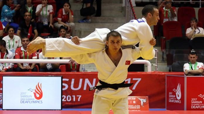 Esenboğa claims home judo double at Deaflympics