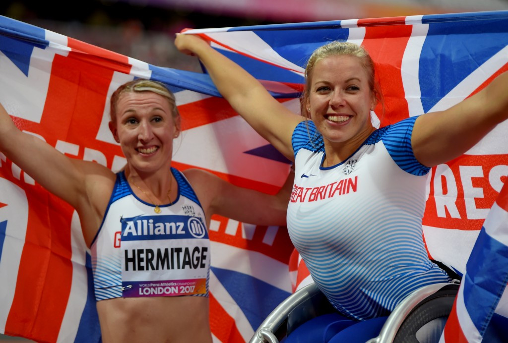 Hermitage breaks world record as hosts Britain continue success at London 2017