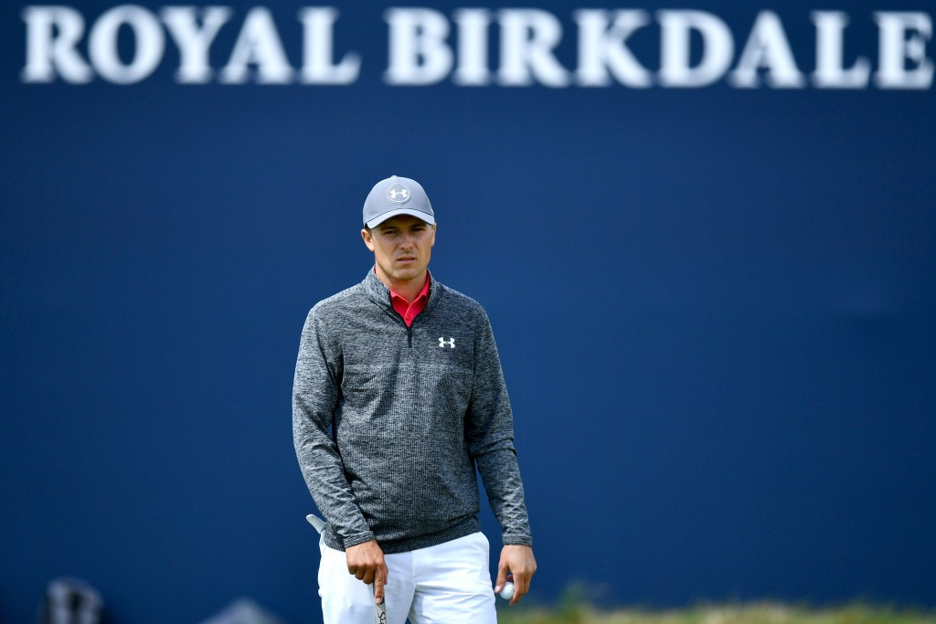 Jordan Spieth is one of three players sharing the lead after the first round at The Open ©Getty Images