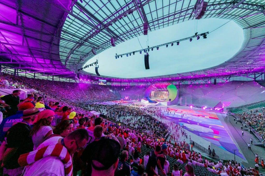 Bach officially declares Wrocław 2017 World Games open