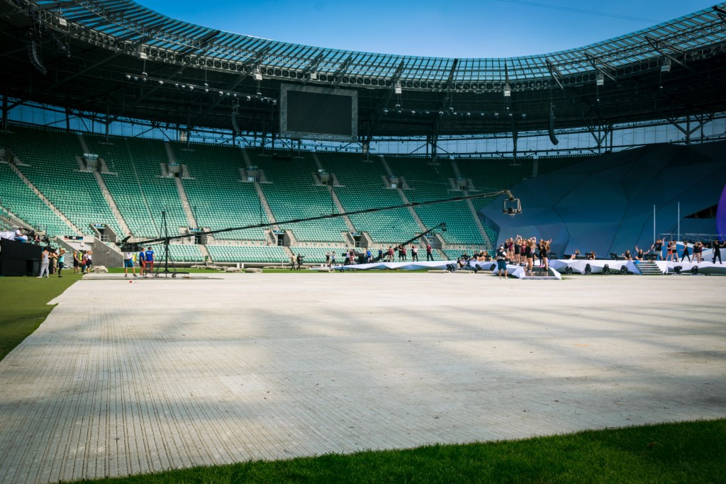 International Sports Broadcasting are working with Polish host broadcasters ATM System ©IWGA