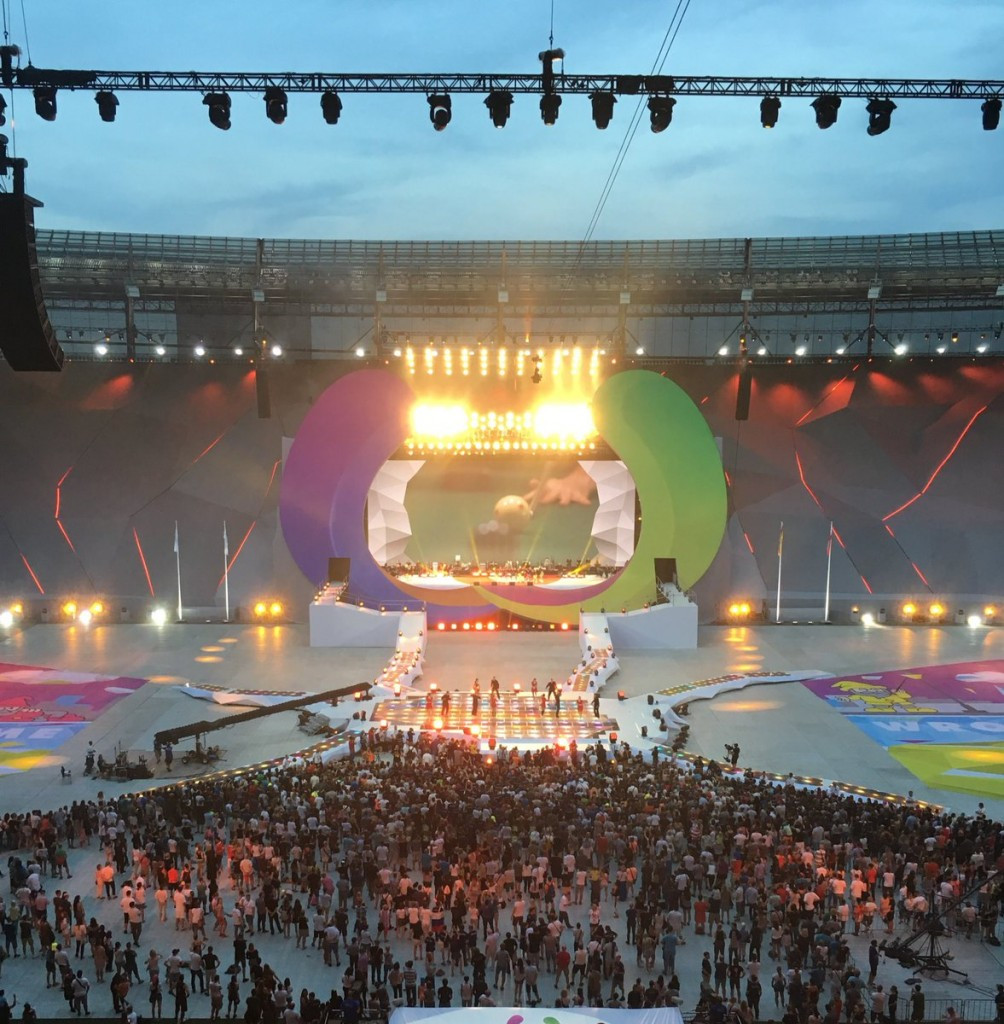 The Wrocław 2017 World Games were officially opened this evening ©IWGA
