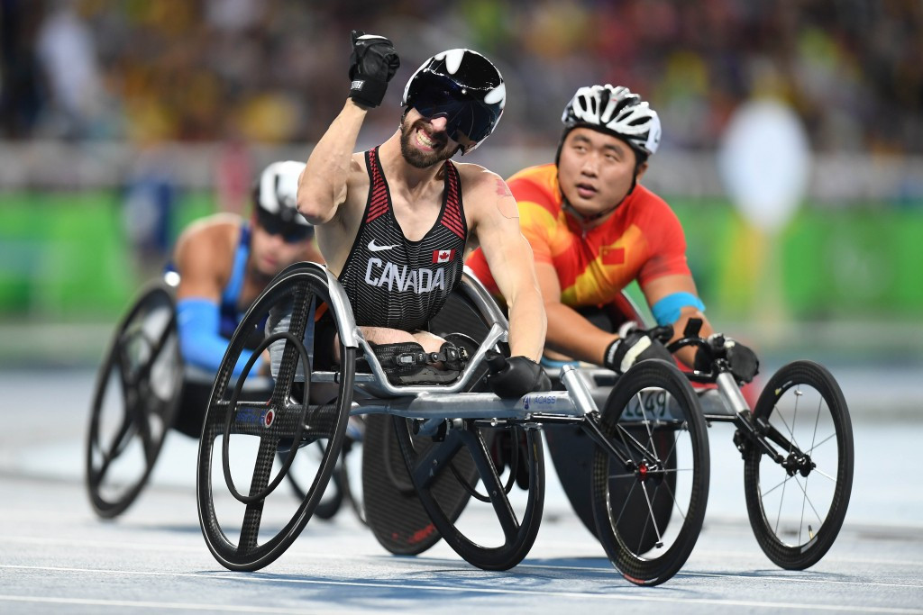 Canada's Brent Lakatos believes London should be the permanent home of the World Para Athletics Championships ©Getty Images