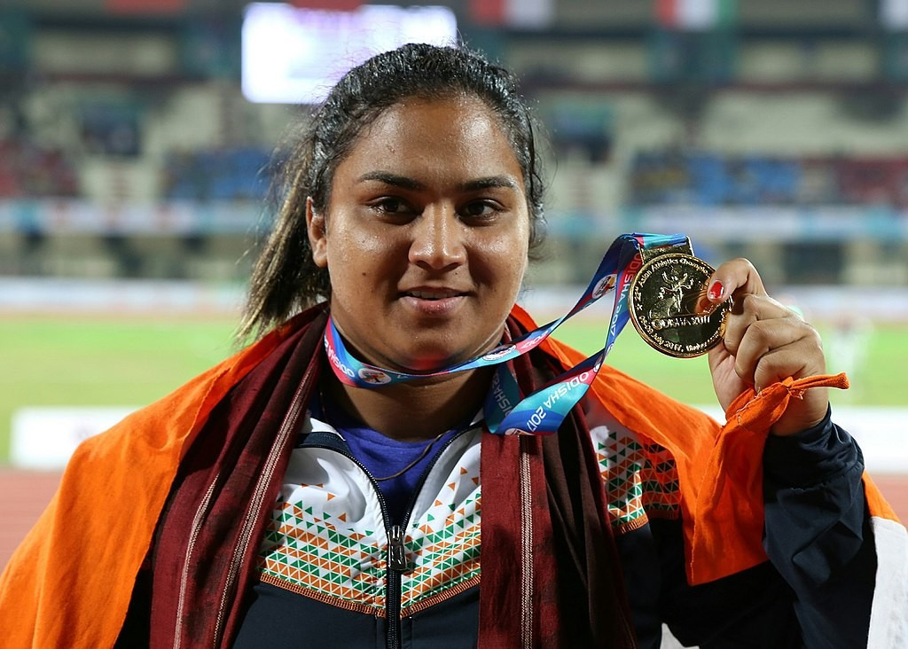 Top Indian shot putter fails drugs test for banned stimulant