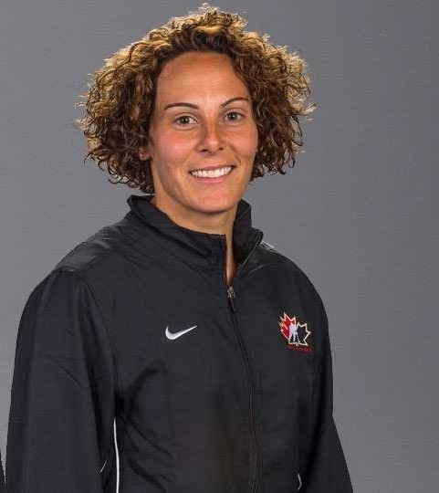 Hockey Canada has announced Noémie Marin will continue as the head coach of the nation's women's development team ©Hockey Canada