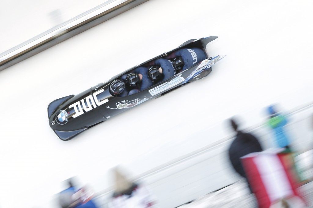 J.C. Cruse has been a member of the USA Bobsled and Skeleton development team ©Getty Images