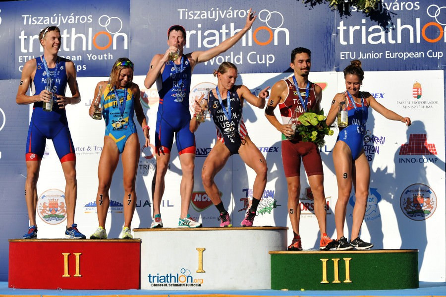 Polyanskyi and Tomlin target repeat success at ITU World Cup in Tiszaujvaros