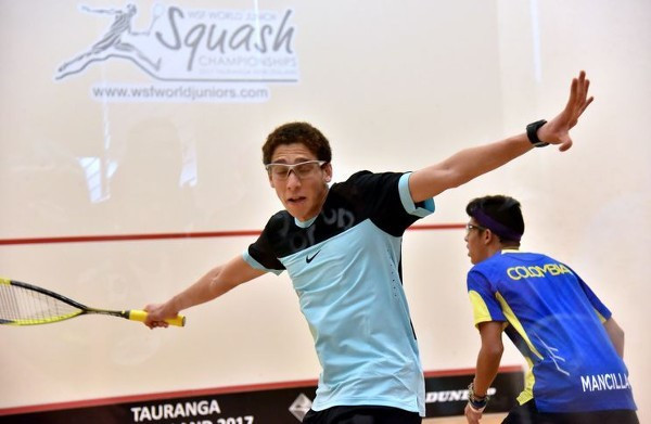 Mixed fortunes for Egypt at WSF World Junior Championships
