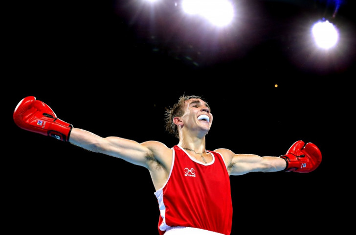 Michael Conlan won for Italia Thunder and achieved a Rio 2016 Olympic Games quota