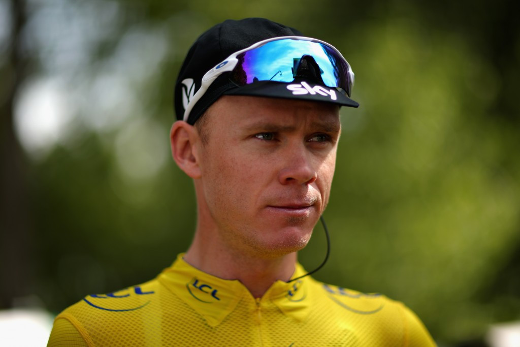 Fourth yellow jersey in touching distance for Froome