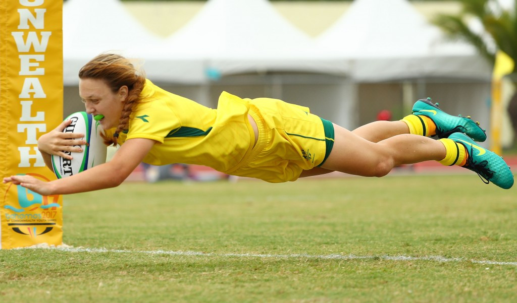 Australia thrashed Canada to secure the girls gold medal ©Getty Images