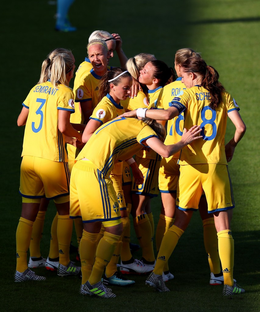 Sweden and Germany enjoy Group B wins at UEFA Women's European Championships
