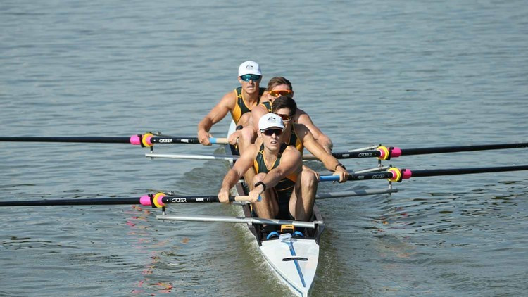 Australia set men's four record at World Rowing Under-23 Championships
