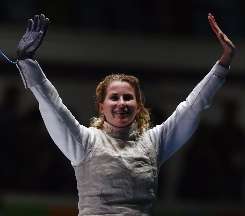 Olympic gold medallist claims women's foil title at FIE World Championships