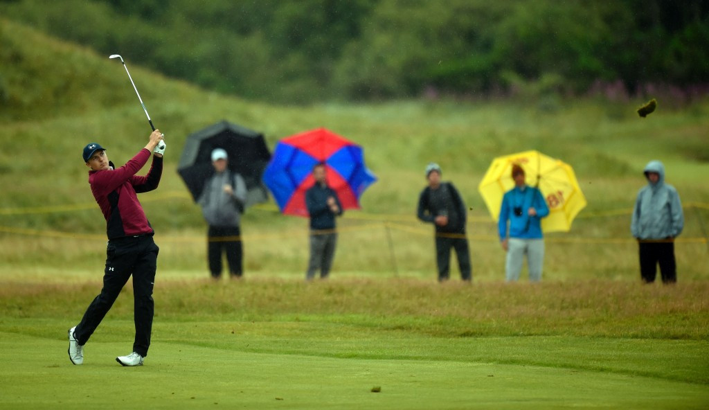 Spieth in front after second round at The Open