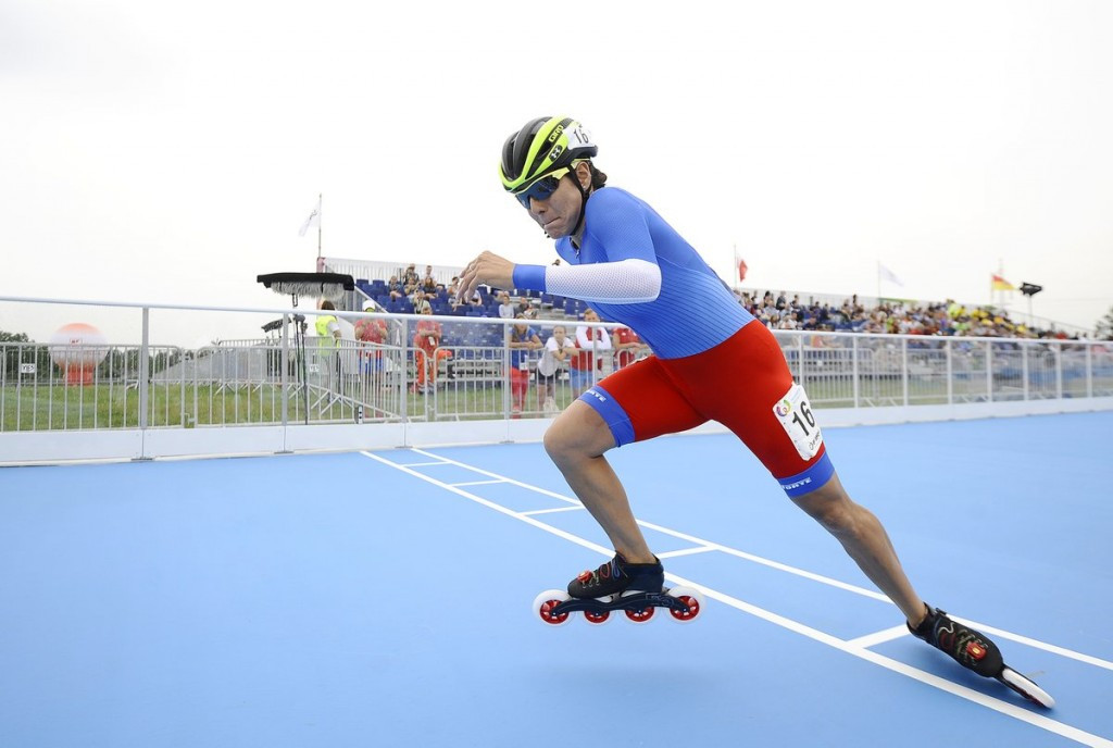 Track speed skating began at the World Games in Wroclaw today ©IWGA