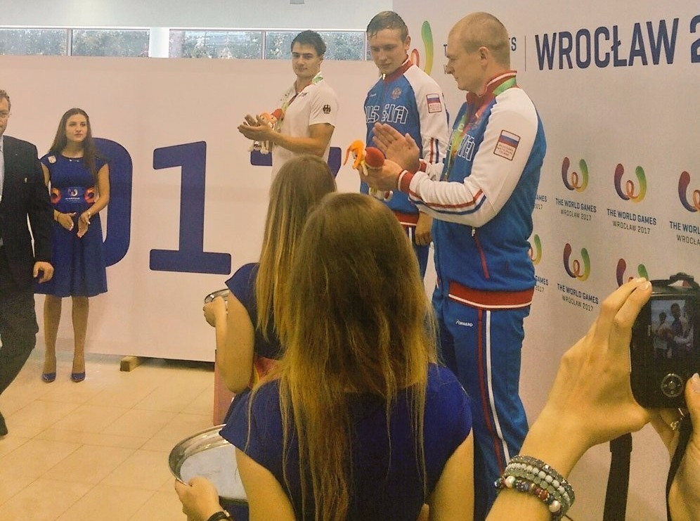 Russia dominate fin swimming on first day of competition at Wroclaw 2017