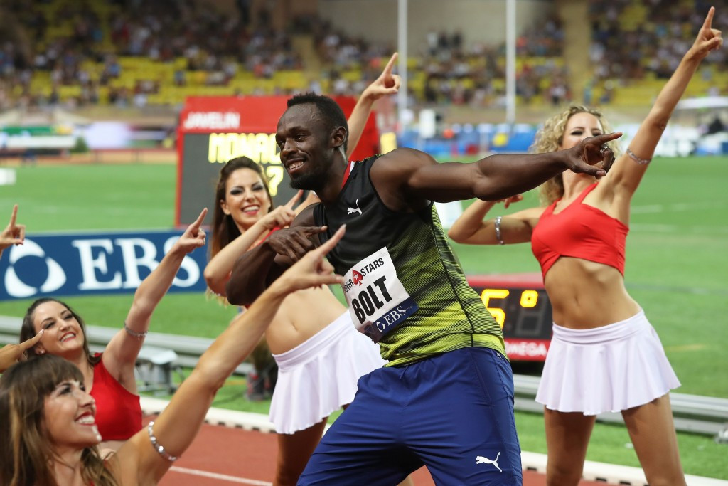 Bolt hits sub-10 form again in Monaco Diamond League