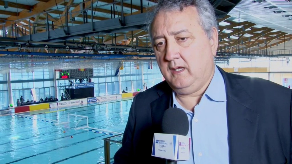 Paolo Barelli is the sole challenger to Julio Maglione in the election for FINA President ©YouTube
