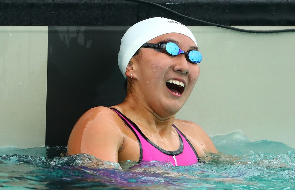 Quah Jin Weng of Singapore won two golds to extend her personal tally to four ©Getty Images