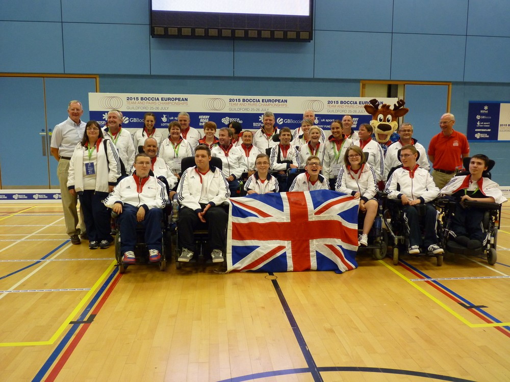 Great Britain well-placed to retain titles at 2015 Boccia European Team and Pairs Championships