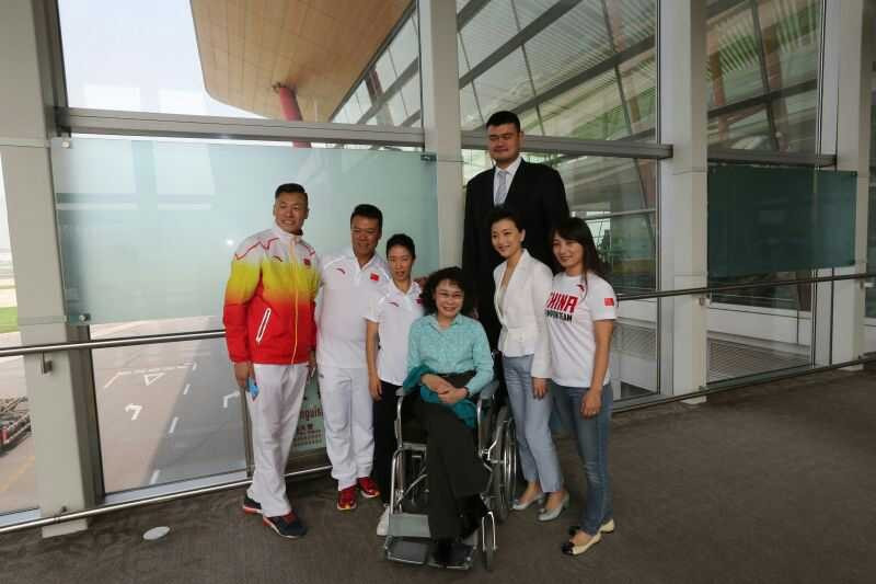 Former NBA star Yao Ming is the part of the Beijing 2022 delegation in Kuala Lumpur ©Beijing 2022
