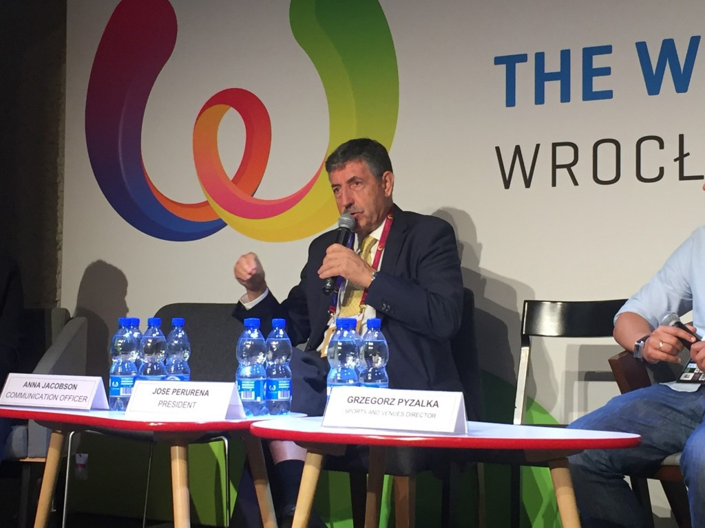 IWGA President claims Wrocław 2017 budget should be an example for future events