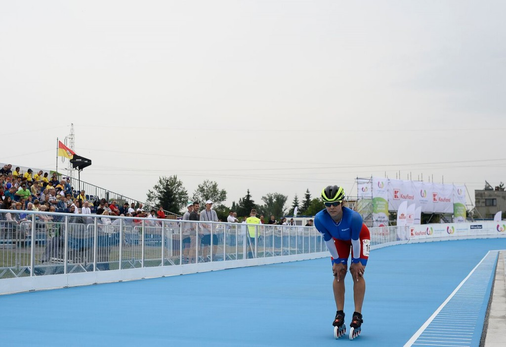 A roller skating track was the only newly built venue at Wrocław 2017 ©IWGA