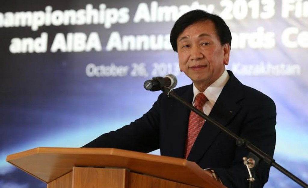 Benkons MMC director Hamid Hamidov claims AIBA President C K Wu, pictured, had personally guaranteed the loan ©Getty Images