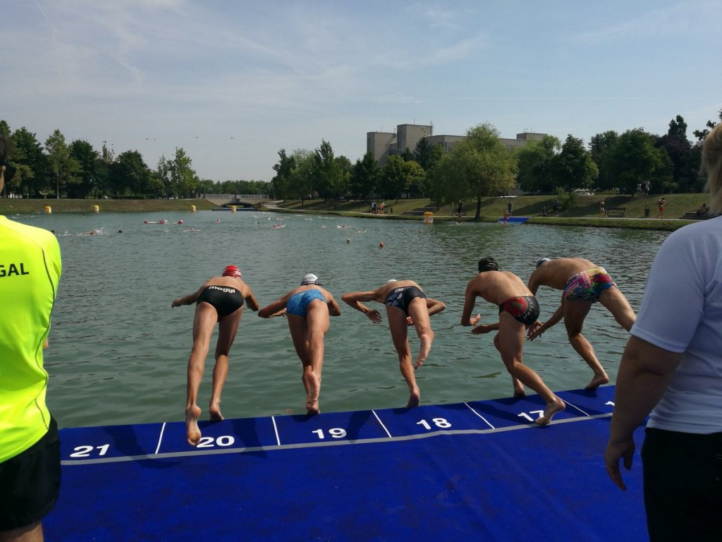 American triathletes impress in women's semi-finals at ITU World Cup in Tiszaujvaros
