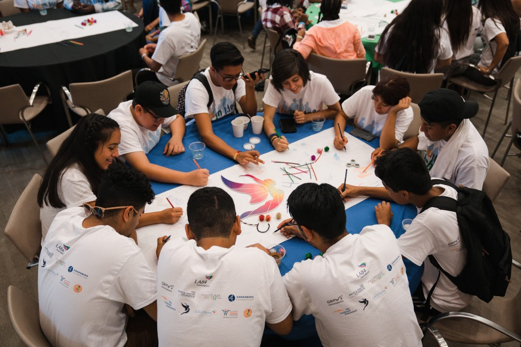 Around 250 young people have attended an event in Los Angeles to learn how they can benefit from a future Olympic and Paralympic Games ©Los Angeles 2024