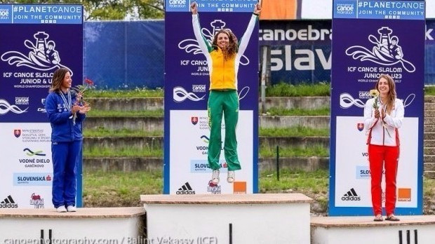Fox claims fourth straight K1 gold at ICF Under-23 and Junior World Championships