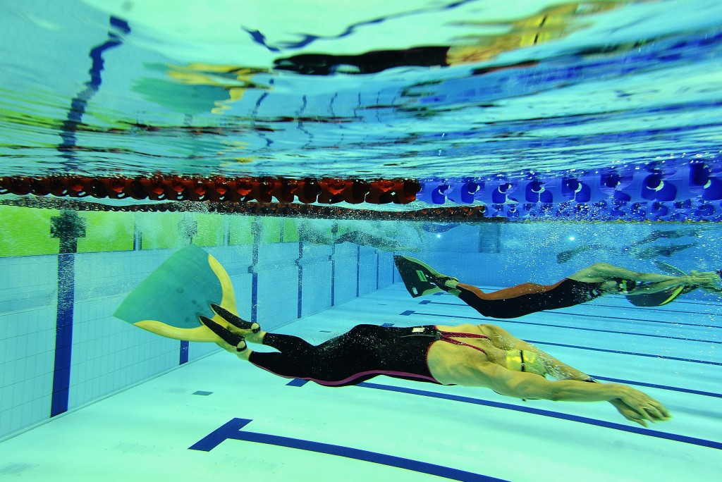 Russia were in dominant form in the fin swimming events, winning five golds ©IWGA