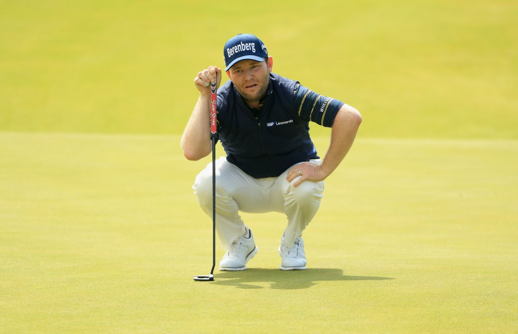 Grace makes major history as Spieth retains lead at The Open