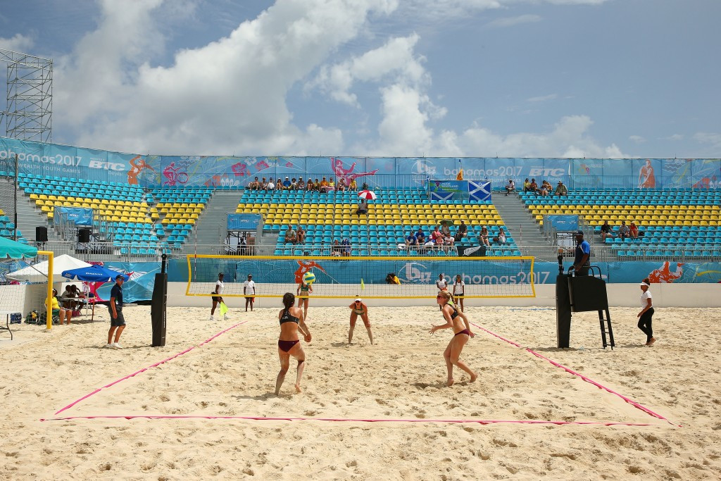 Australia secure first Commonwealth Youth Games beach volleyball gold medal