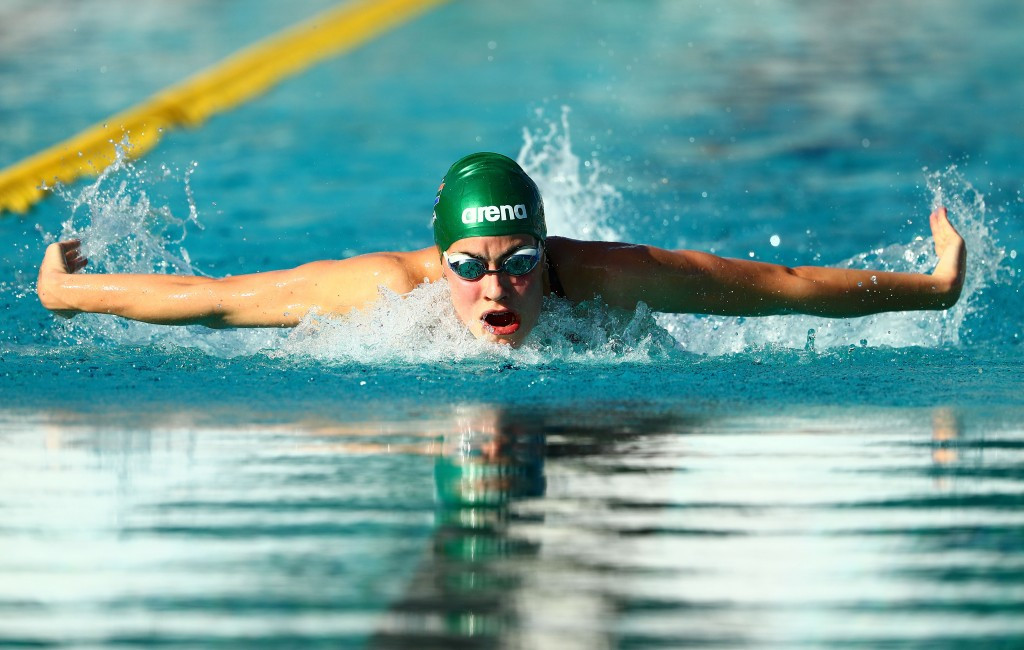 South Africa finished second on the swimming medal standings behind England ©Getty Images