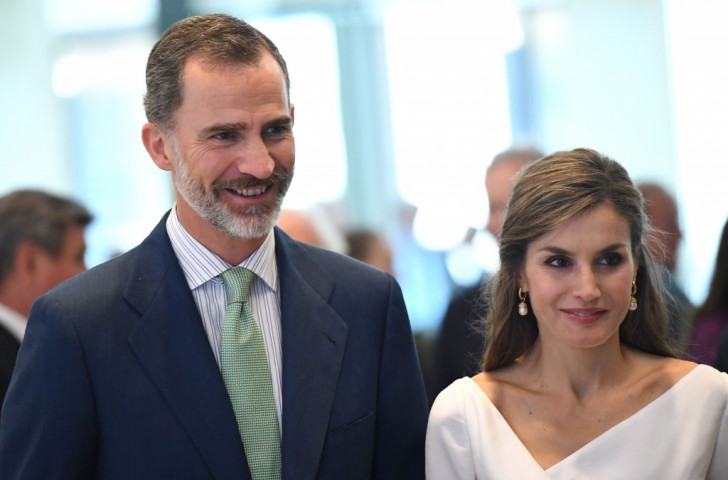 King Felipe VI of Spain, pictured with Queen Letizia during this month's State Visit to Britain, will be in Barcelona on Tuesday to preside over celebrations marking the 25th Anniversary of the 1992 Olympic Opening Ceremony ©Getty Images