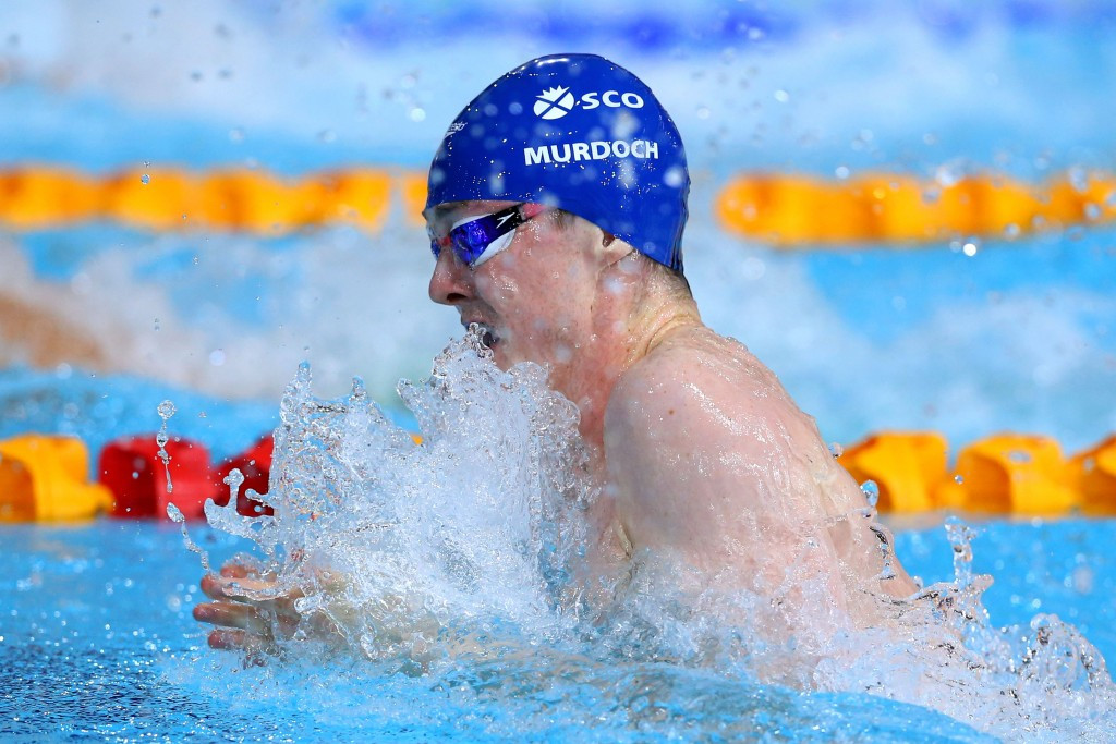A physicality toolkit has been launched to mark the anniversary of the 2014 Commonwealth Games, where Ross Murdoch won two medals for the hosts ©Getty Images