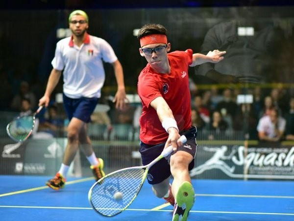 Tarek and Crouin both cause upsets to reach WSF World Junior Championships final