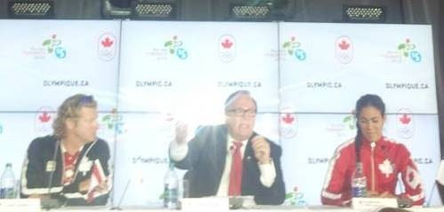Marcel Aubut spoke confidently about Toronto's chances if it should bid for the 2024 Olympics again today ©ITG