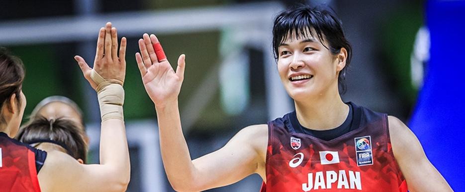 Japan make winning start to defence of FIBA Women's Asia Cup crown