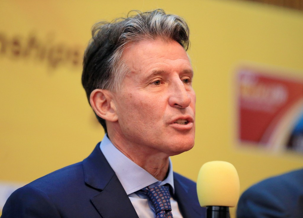 IAAF President Sebastian Coe claimed the decision to add a 50 kilometres race walk for women at this year's World Championships in London was due to pressure from a small group of athletes ©Getty Images