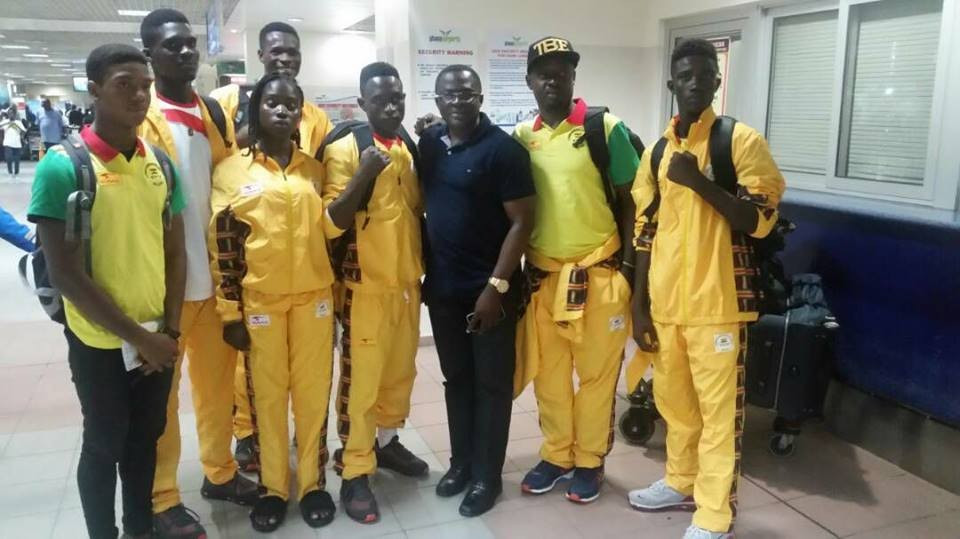 GOC President Mensah meets with Commonwealth Youth Games team members