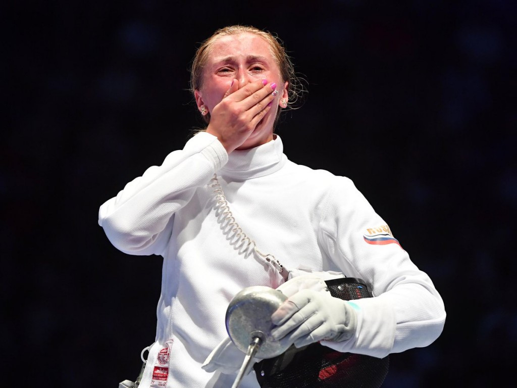 Russians claim shock wins at FIE World Championships