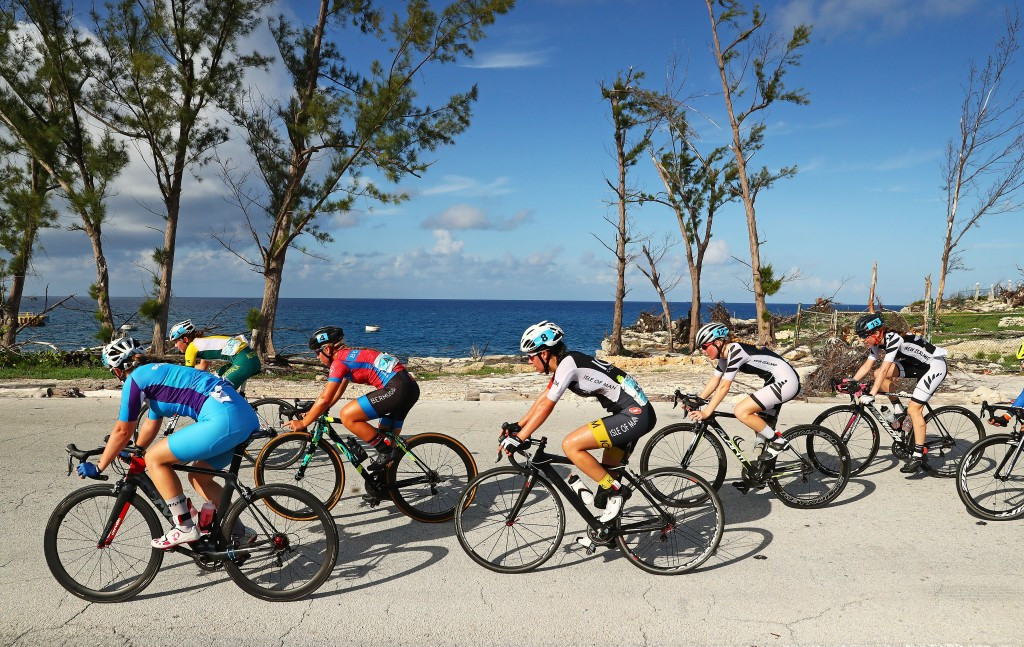 Cycling events at Bahamas 2017 took place in front of a picturesque landscape ©Getty Images