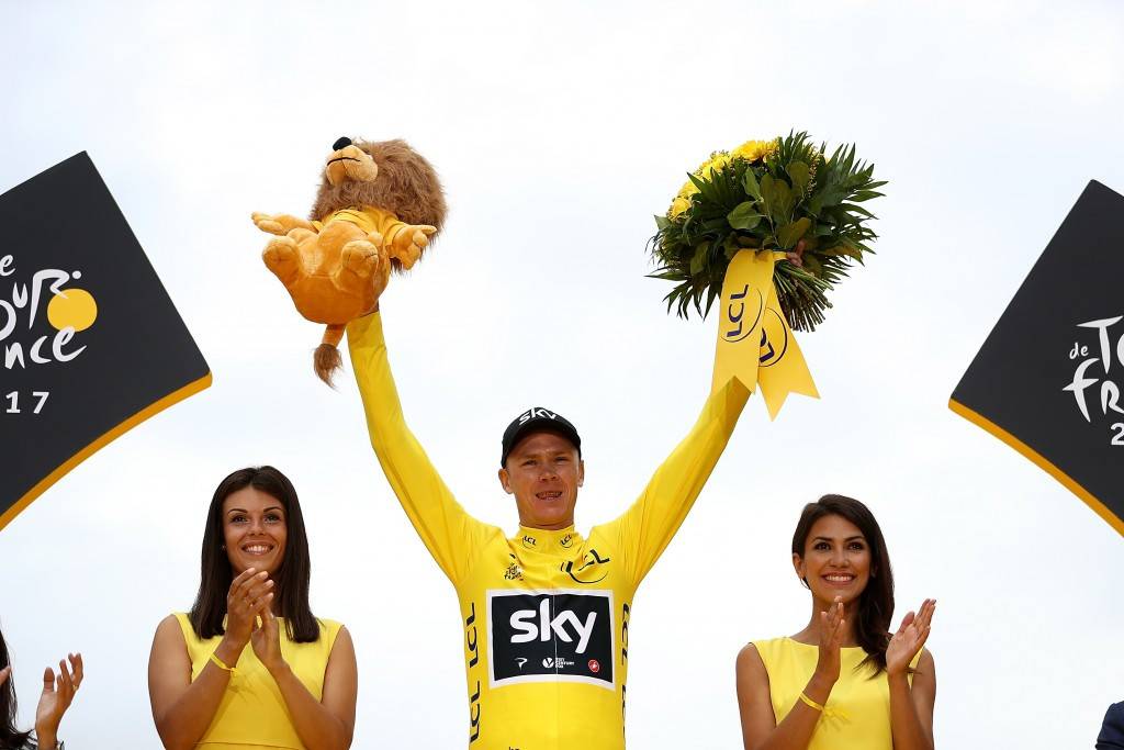 Chris Froome won the Tour de France for the fourth time ©Getty Images
