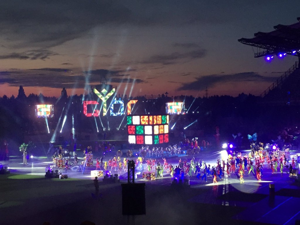 European Youth Olympic Festival officially launched with Opening Ceremony