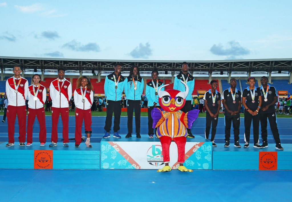 The Bahamas waited until the final day of the event to win their first gold medal ©Getty Images