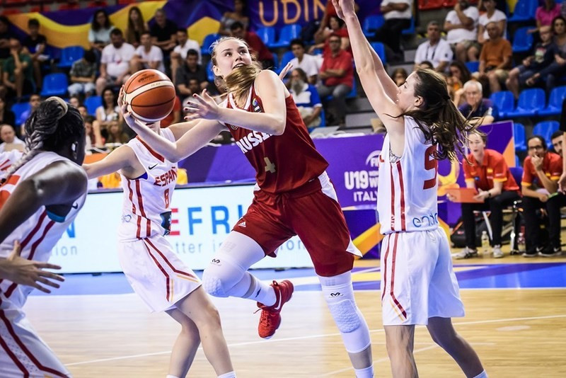 Japan and Russia win groups at FIBA Women's Under-19 World Championship