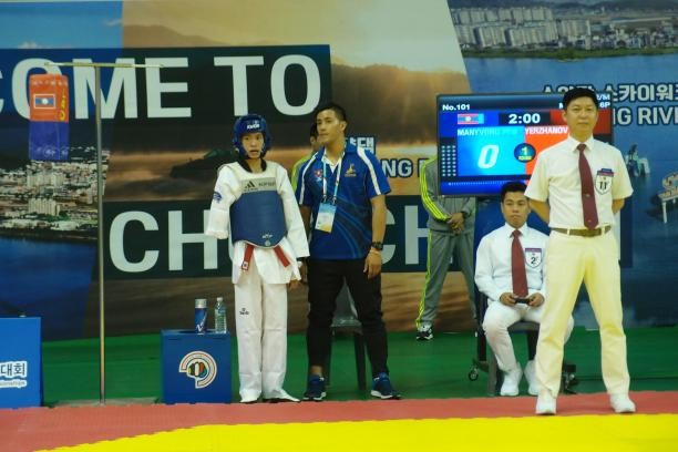 Laos fighter targets Tokyo 2020 after historic Para-taekwondo debut
